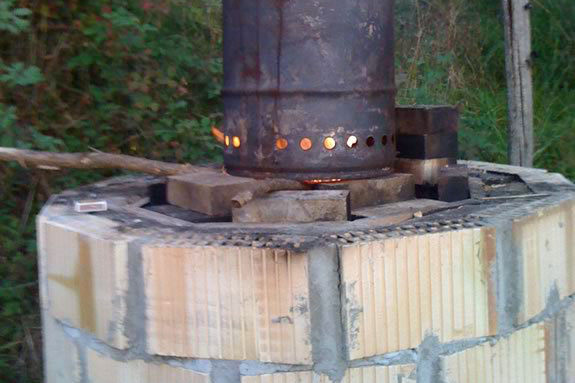 Do it yourself biochar kiln